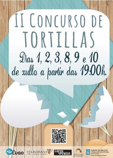 II Concurso de tortillas de Chantada