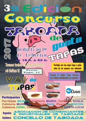 III Concurso de tapas Taboada 2017