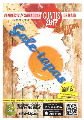 Cuntis: Gale-Tapas 2017