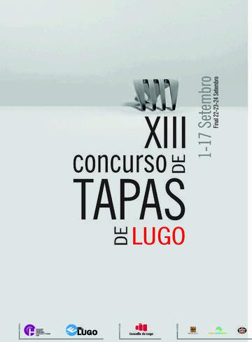 XIII Concurso de Tapas de Lugo