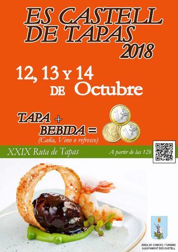 Es Castell de Tapas 2018