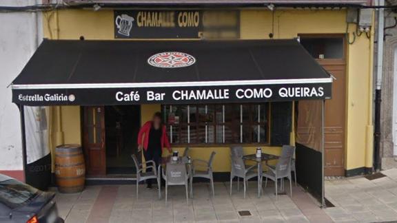 Café - Bar Chámalle como Queiras