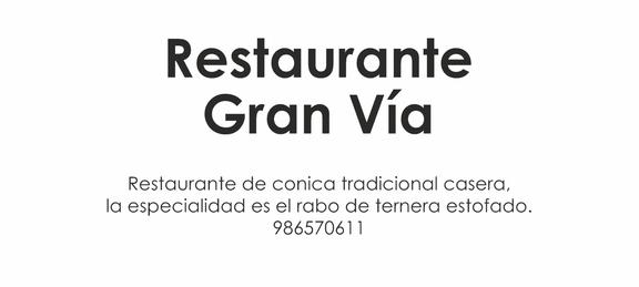 Ruta Rosalía - Restaurante Gran Vía