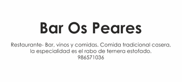 Ruta Rosalía - Bar Os Peares