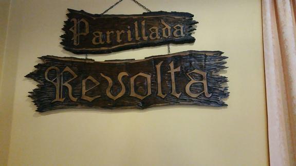 PARRILLADA A REVOLTA