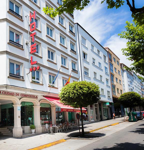 (é)tapa 8 - HOTEL CIUDAD DE COMPOSTELA