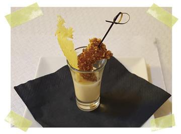 Chupiño de gambón crocante