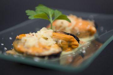 Mexillóns de Galicia en salsa Thai