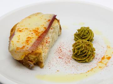 Pincho: Tosta de Cocido galego