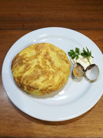 Tortilla de berberechos