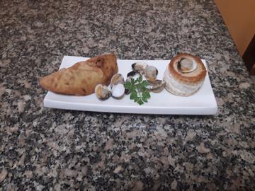 Tartaleta de berberechos