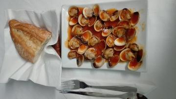 Berberechos en salsa mariñeira