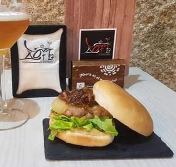 hamburguesa 100% ternera gallega