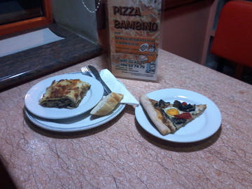 Pizza lamprea