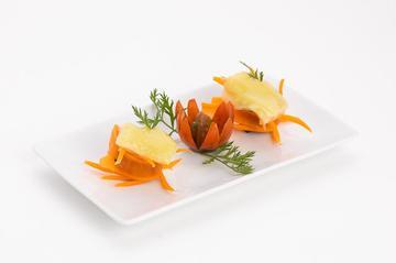 Ravioli vegano recheo de couveflor e pataca | 2,50€