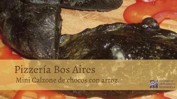 MINICALZONE DE CHOCOS CON ARROZ