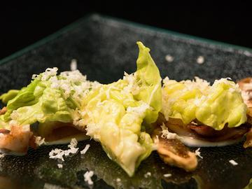 Salada templada de chipirón